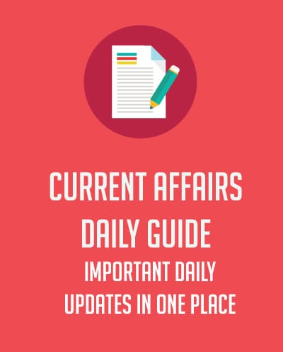 Current Affairs all in one place