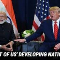 The US removed India from the list of the developing nation.