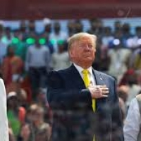 US President Donald Trump visits India  and Signs Defence Deals.