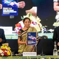 "Finance Minister Nirmala Sitharaman launched ""EASE 3.0"" for tech-enabled banking for aspiring India."