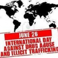 26 Jun observed every year for International Day against Drug Abuse And Illicit Trafficking.