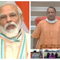 Prime Minister Modi has launched Atma Nirbhar Abhiyan in UP to provide 1.25 crore jobs to returnee migrant workers during COVID19.