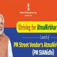 "Urban Affairs Ministry launches mobile application ""PM SVANidhi"""