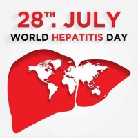 World hepatitis day on July 28.