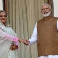 The inland waterways agreement signed between India and Bangladesh.