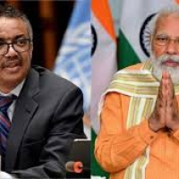 The Telephonic Conversation between Prime Minister of India and Director General of  WHO