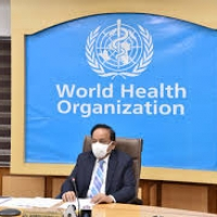 147th session of WHO Executive Board Meeting chaired by Dr. Harsh Vardhan