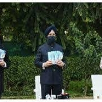 Release of the book 'PM Modi and his Government's special relationship with Sikhs'