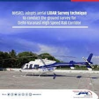 Aerial LiDAR Survey Technique is to be adopted by NHSRCL