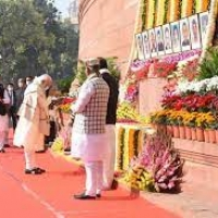 Tribute to Martyrs of the Parliament Attack