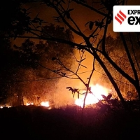 FOREST FIRE IN SIMLIPAL