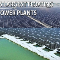 BIGGEST FLOATING SOLAR POWER PLANT OF INDIA