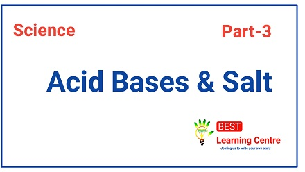 police exam online coaching for science acid base and salt part 3